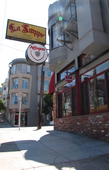 La Trappe, Grenwich at Columbus and Mason, North Beach
